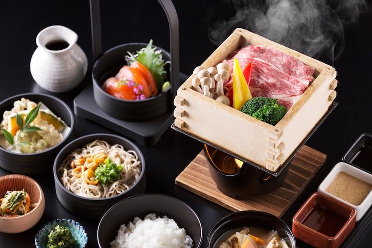 ハルニレ夕食プラン-和食「村民食堂」-