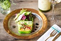 ハルニレ夕食プラン-フレンチ・ワイン「セルクル」-