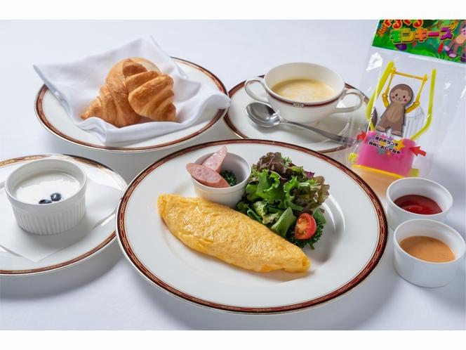 朝食・お子様プレート※イメージ