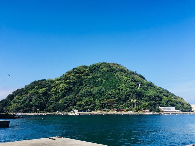 淡島マリンパーク・前景