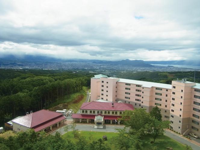 ホテル・上空写真