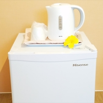 冷蔵庫・湯沸かしポット