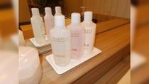 女性大浴場 クレンジングローション・化粧水・乳液
