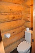 Log House トイレ