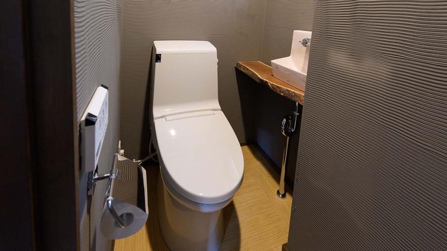 ・トイレは洗浄機能付きです