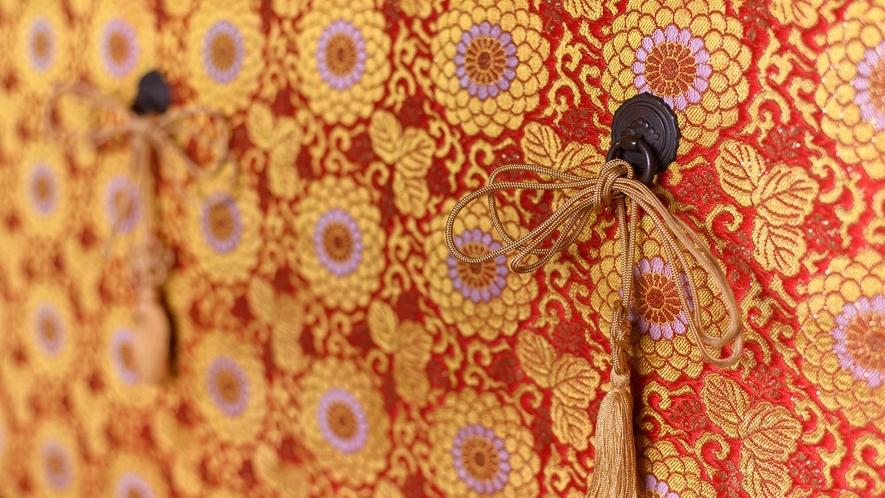 ・金沢の伝統を感じさせる装飾でおもてなしいたします