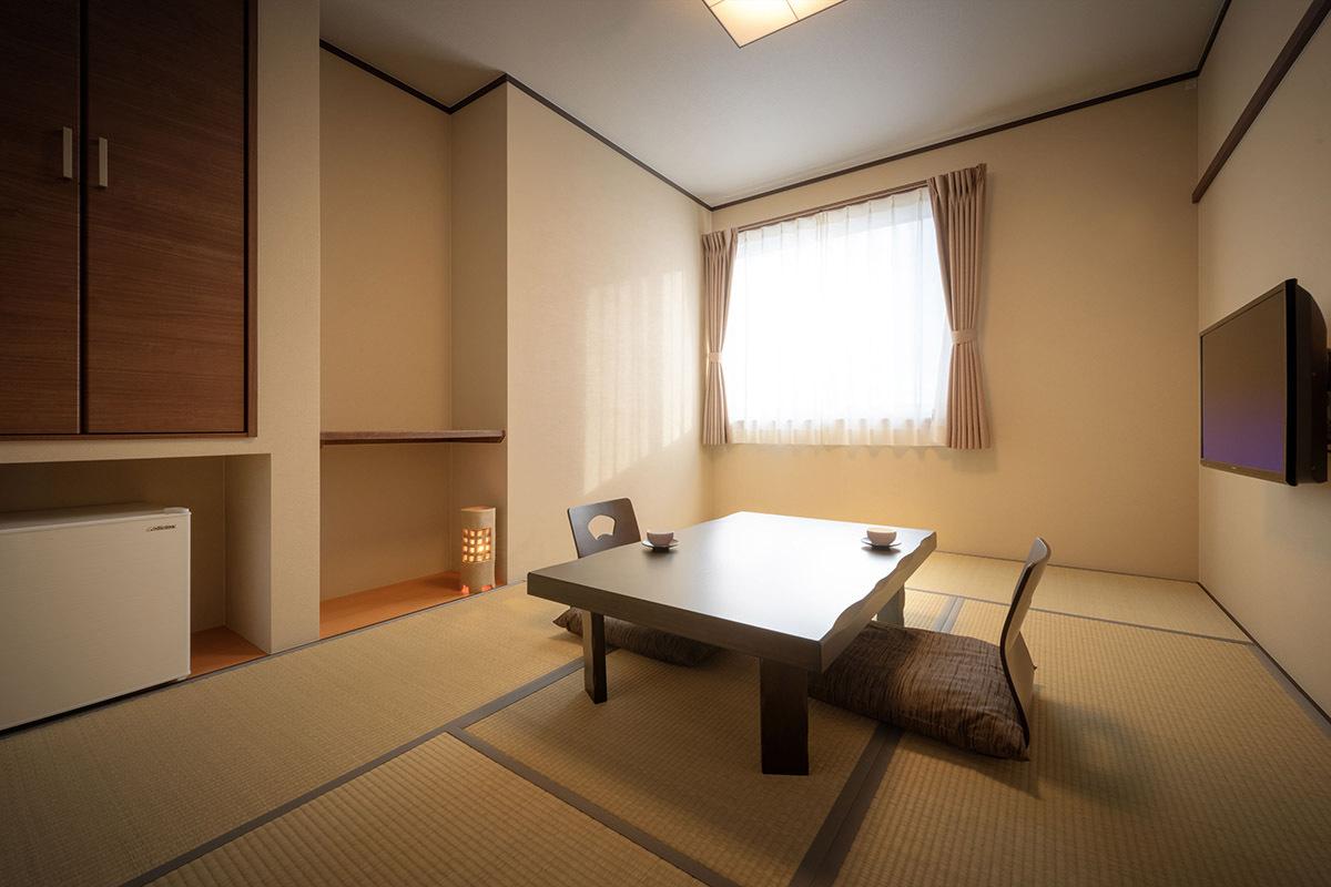 【お部屋】《和室6畳・洗浄器付きトイレバス有り》