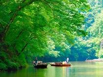 【周辺観光】《名勝 日本百景・猊鼻渓(春・夏)》お車で約25分