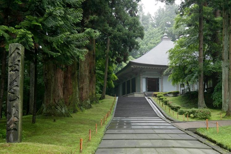 【周辺観光】《世界遺産 平泉・中尊寺》徒歩で約12分