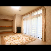 山荘ですが洋室のご用意もございます!清潔感のある洋室9畳