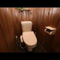 「Bタイプ」グラスヒュッテのトイレももちろんウォシュレット付き♪清潔感を大事にしています。