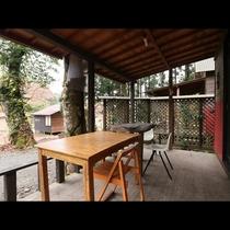 「Aタイプ」バリ風バンガローから眺める自然の景色に癒されます。