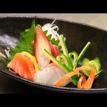 新鮮なお刺身はやっぱり美味しい!