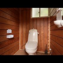 「Aタイプ」ウォシュレット付きの清潔感のあるトイレです。
