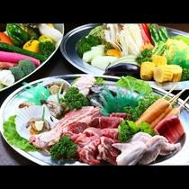 新鮮魚介&野菜にたっぷりお肉!ボリュームたっぷりBBQに大満足間違いなし☆