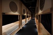 「泊まれる茶室」をコンセプトにした、新しい茶室型カプセルホテル