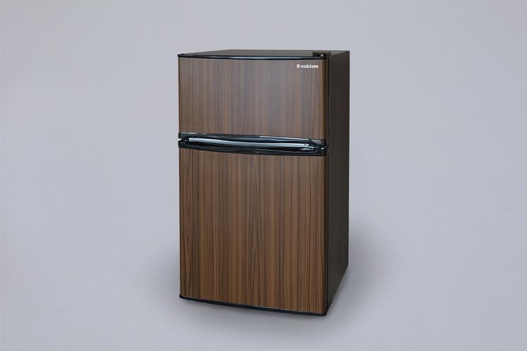 2ドア式の冷蔵冷凍庫