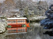 二条離宮の冬のイメージ画像