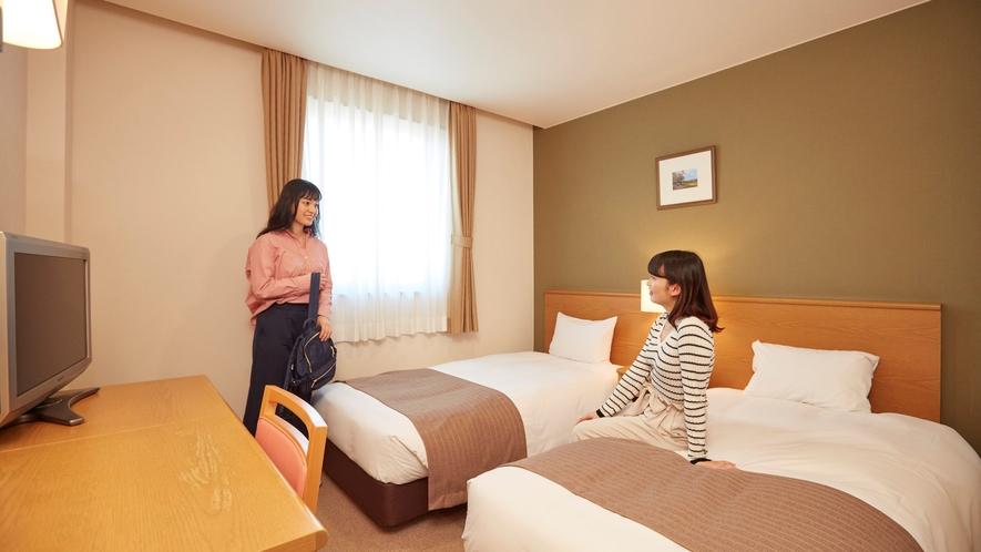 ■客室:ツインルーム