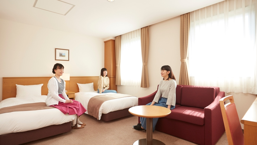 ■客室:DXツインルーム