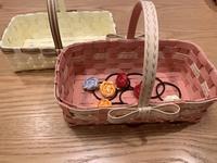 クラフトバンド籠編み体験