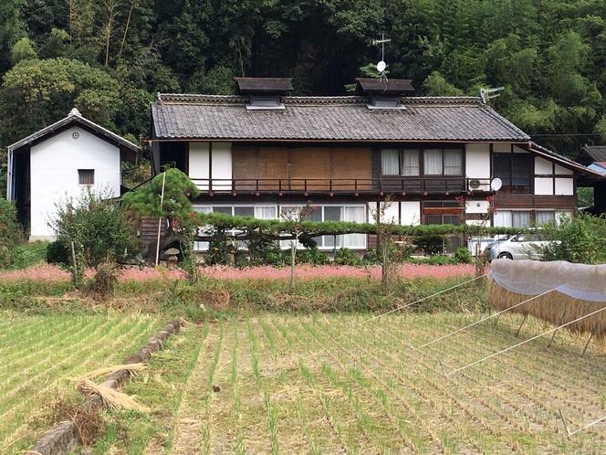 赤蕎麦の母屋