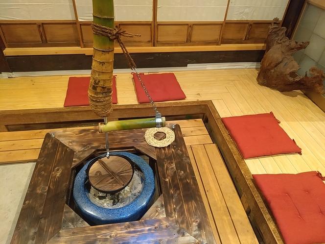 囲炉裏風火鉢