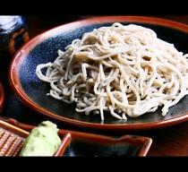 夕食◆元そば屋が腕を振るった蕎麦をどうぞ(共同調理)