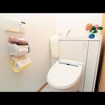 トイレはウォッシュレット付