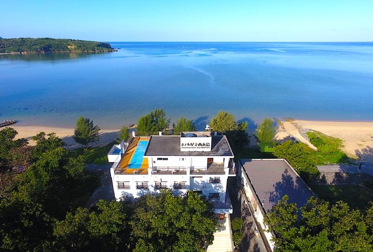 ホテル施設 空撮画像
