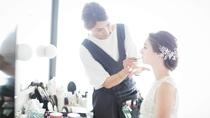 花嫁さまをとびきりの笑顔にしてくれる、魔法のメイク。