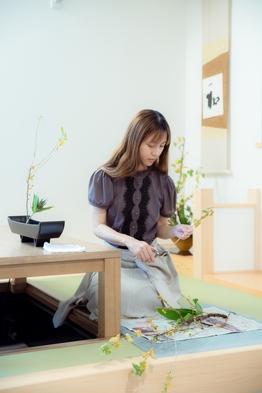 京都の宿で生け花体験付き宿泊プラン