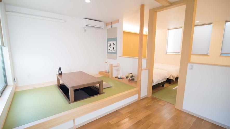 ・【Room1】5名様まで泊まれる和洋室