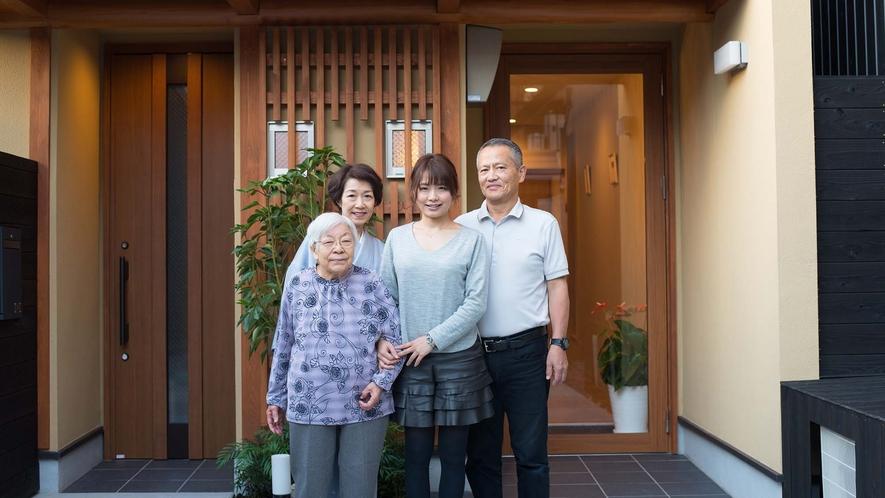 ・京アンスインへようこそ!私たちがお迎えします
