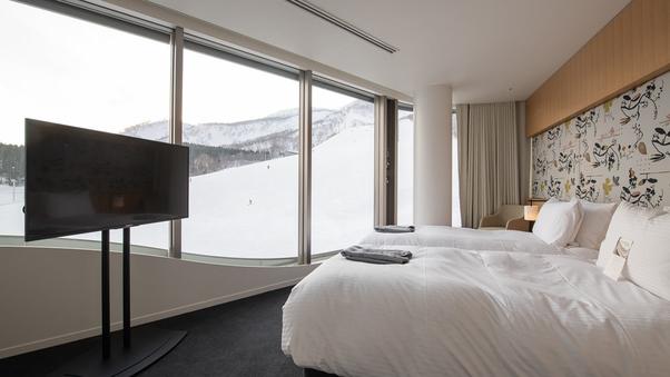 ホテルルーム(25平米/ツイン/キッチン無)眺望指定なし