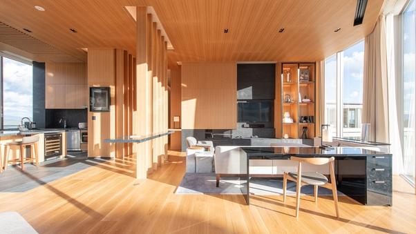 【最上階特別室】スカイペントハウス(221平米/寝室4部屋)