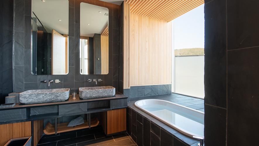 【ペントハウス】浴室(バスタブ付き)