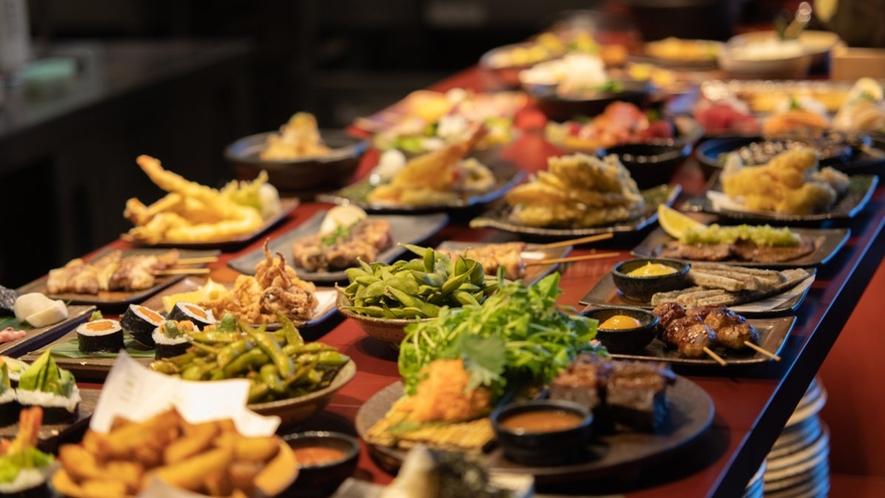 【雲レストラン】厳選した道産食材を使用