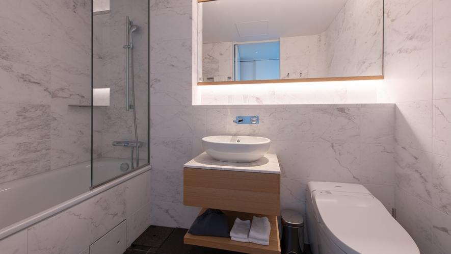 【4ベッドルーム】バスルーム(主寝室)
