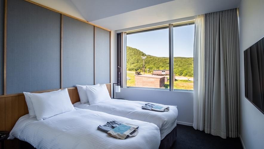 【2ベッドルーム】寝室