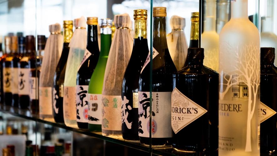 【雲レストラン】選りすぐりのお酒をラインナップ