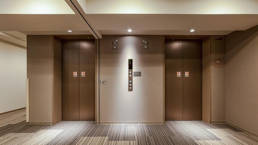ゲストエレベーターホール