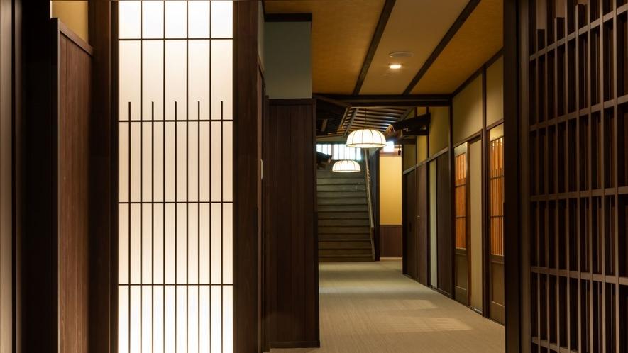 ◆【乗鞍荘】1階廊下