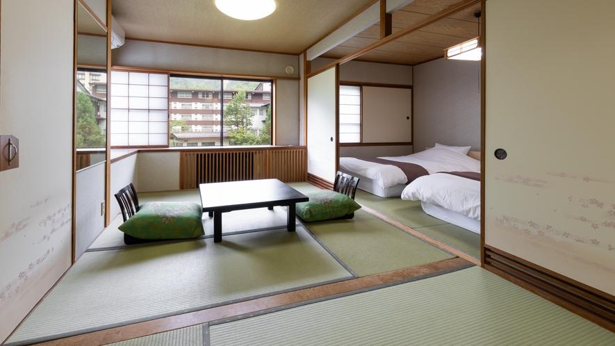 ◆【禁煙】《本館》和室 10.5畳+9畳(51平米)