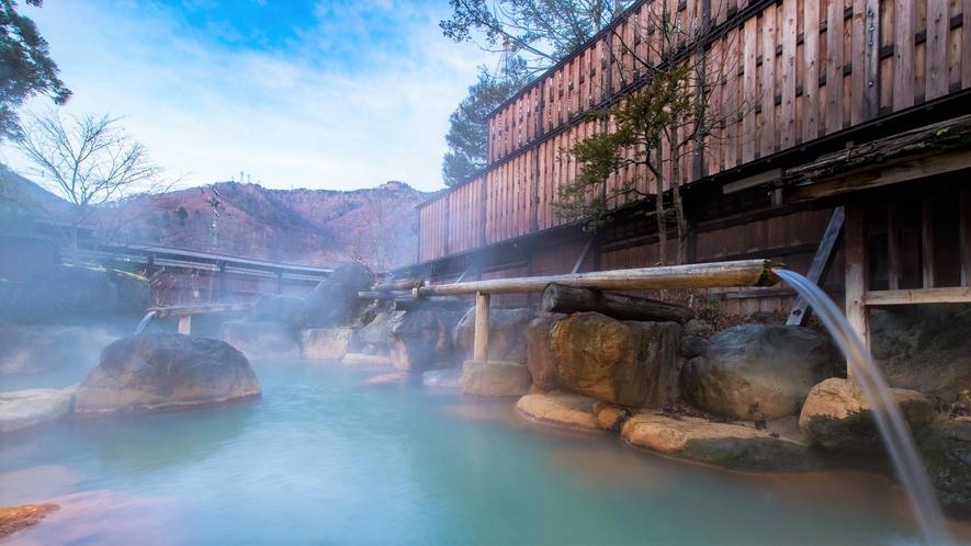 ◆【大浴場】杣人の湯 大露天風呂