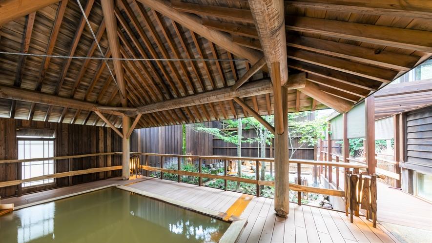 ◆【大浴場】木響の湯 檜露天風呂
