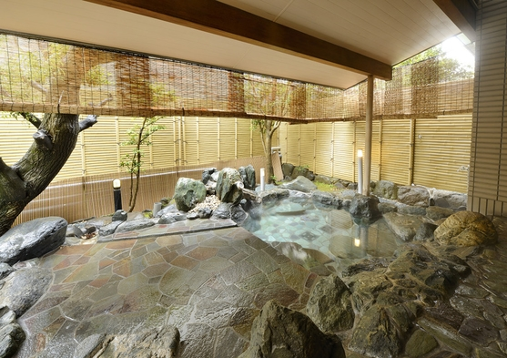 【みやかみの湯 HA-NA-RE 露天風呂付き客室プラン】お部屋の露天風呂でゆっくり♪まったりと♪