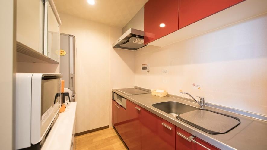 Gdタイプ一例 キッチンは広々。地のものを使ったメニューもオススメ!