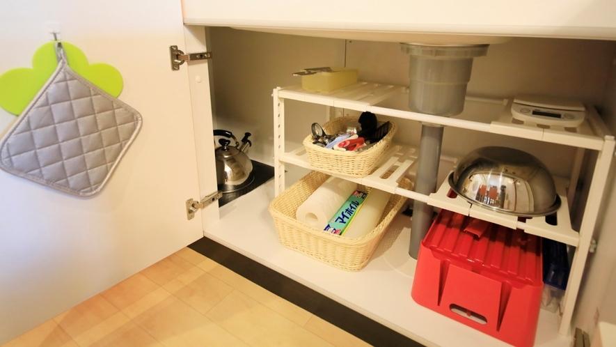Ddタイプ一例 調理器具も一通りご用意。