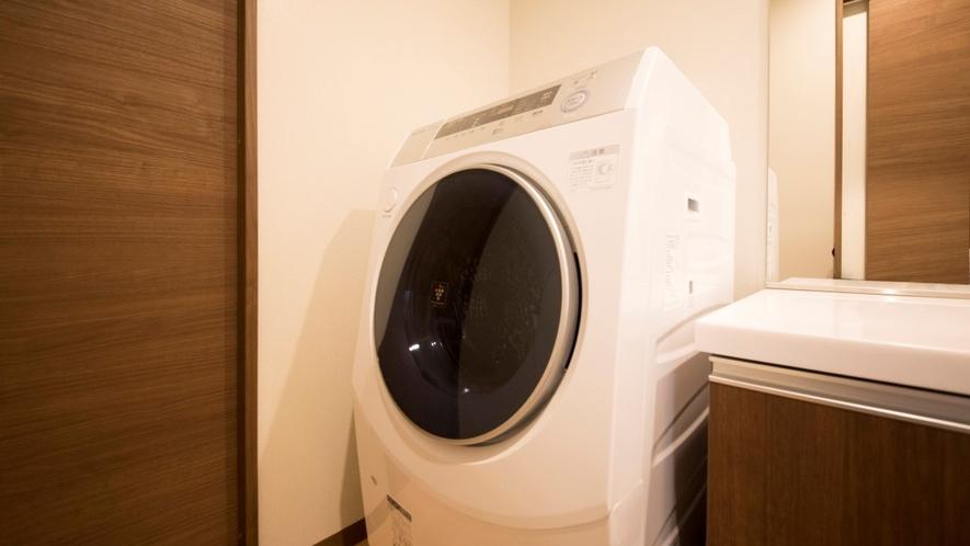 Gd・Ddタイプ コンドミニアムタイプのお部屋には洗濯機などの家電もご用意しております。